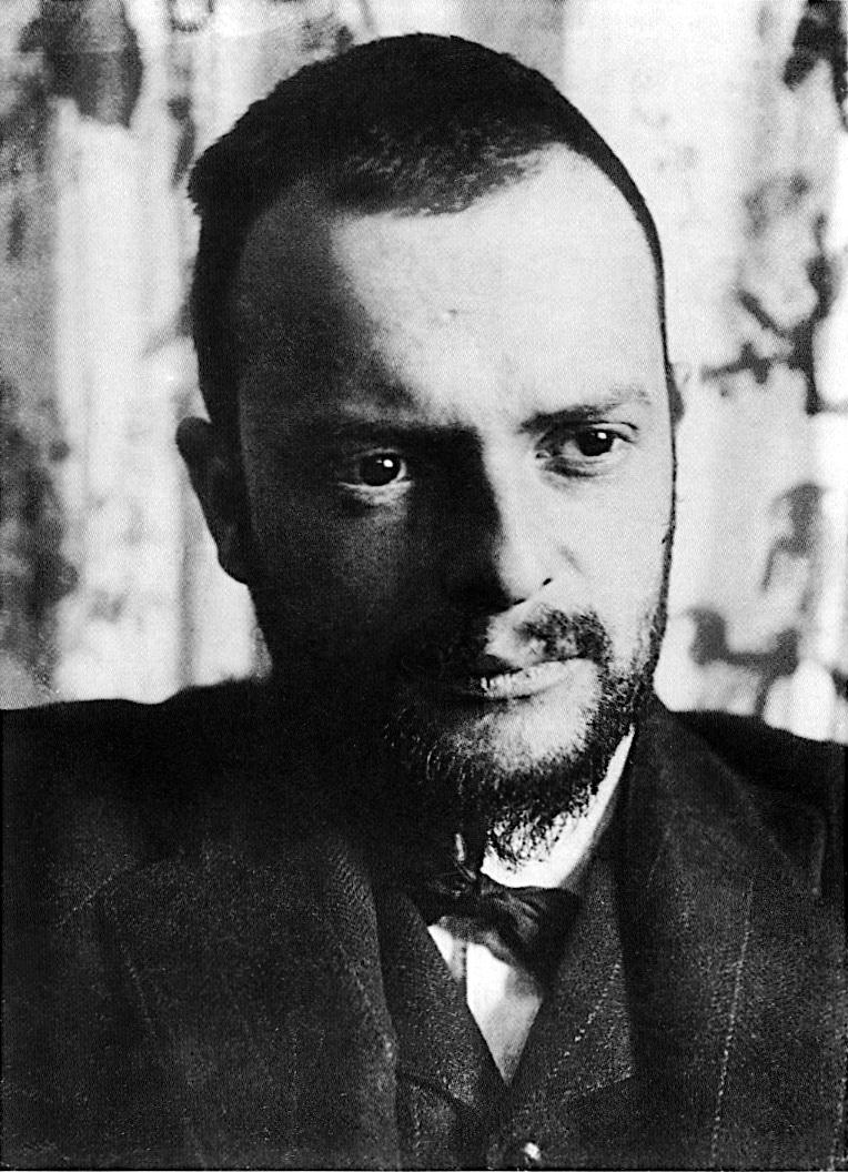 Fotographie von Paul Klee, 1911