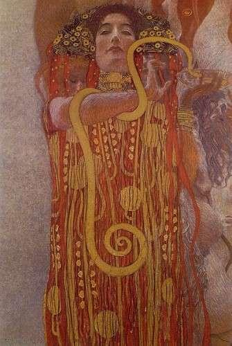 Gustav Klimt - Hygeia