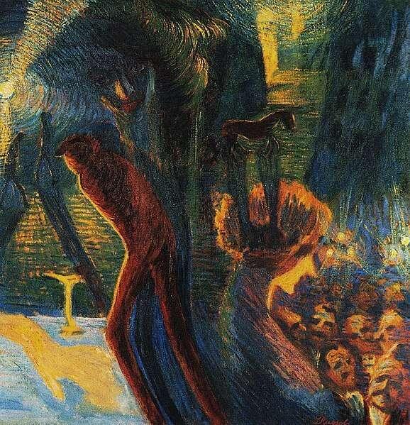 Luigi Russolo - Souvenir d'une nuit, 1911