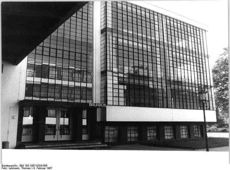 Das Bauhaus-Gebäude Dessau
