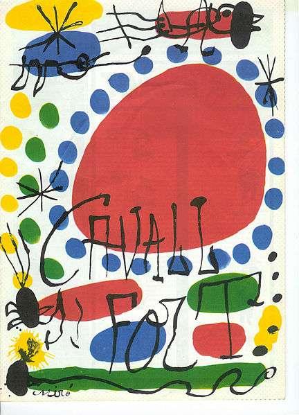 Kunstwerk von Joan Miro