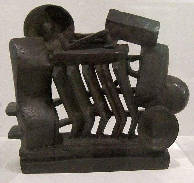 "Die Komposition \""Man and Woman\"" von Alberto Giacometti"