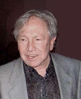 Robert Rauschenberg im Jahre 1999