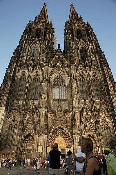 Kölner Dom - Westseite