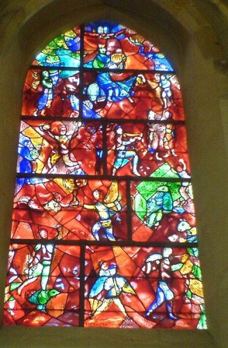 Marc Chagall - Kirchenfenster in Chichester