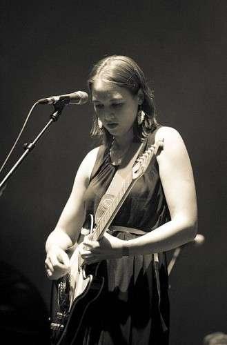 Die Schweizer Sängerin Sophie Hunger