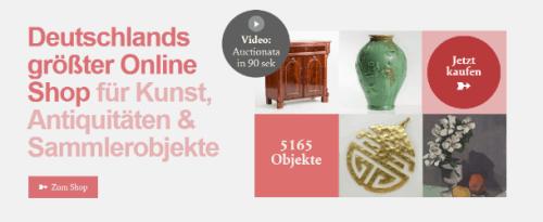 auctionata - Virtuelles Auktionshaus (Screenshot)