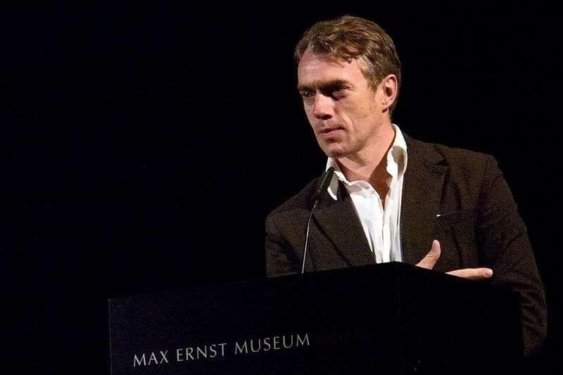 Der deutsche Maler Neo Rauch im Max Ernst Museum