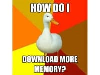 Top Meme: Technologically Impaired Duck