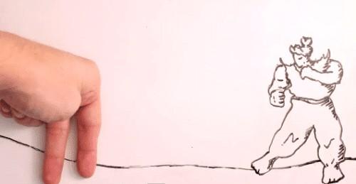 Maker vs. Marker - 2D Stop Motion Animation