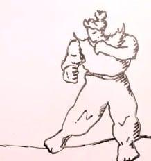 Künstler vs. Werk - Kampf im Street Fighter Stil