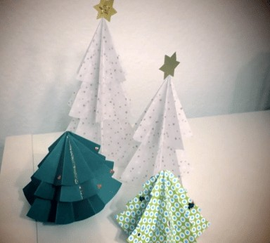 Alternative Weihnachtsbäume basteln