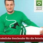 Eigene T-Shirts gestalten mit Spreadshirt