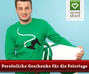 Spreadshirt - Persönliche Geschenke