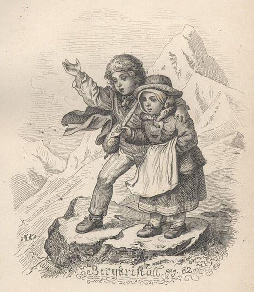 Deutsche Literatur, die größten Werke: Der Bergkristall von Adalbert Stifter