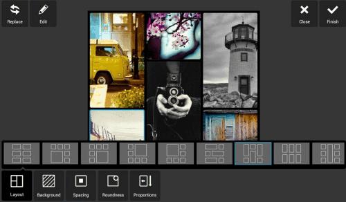 Collagen erstellen mit Pixlr Express