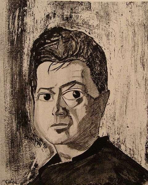 Portrait des Malers Francis Bacon, von Reginald Gray