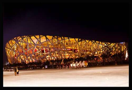 Nationalstadion von Peking (Bird's Nest)