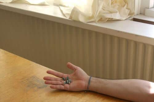 """Detailaufnahme von Ai Wei Wei's """"sunflower seeds"""" im Tate Modern in London"""