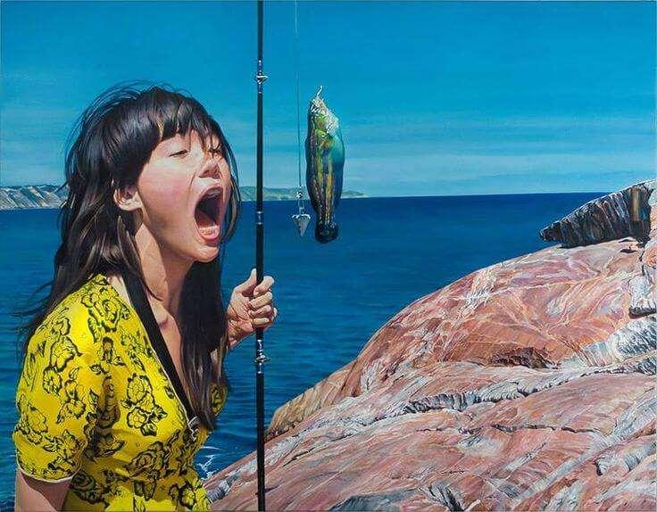 10 unglaublich detaillierte und hyperrealistische Gemälde von Diego Gravinese