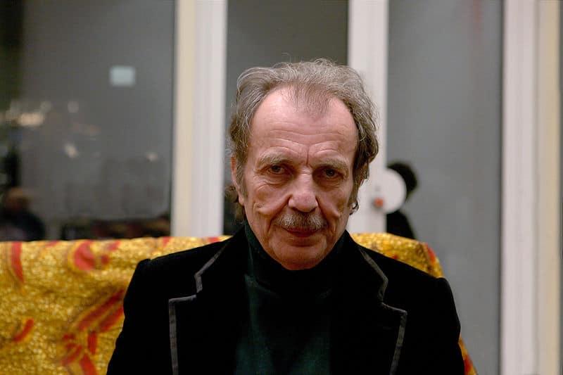 Der österreichische Bildhauer Franz West in Köln, Museum Ludwig (11.12.2009)