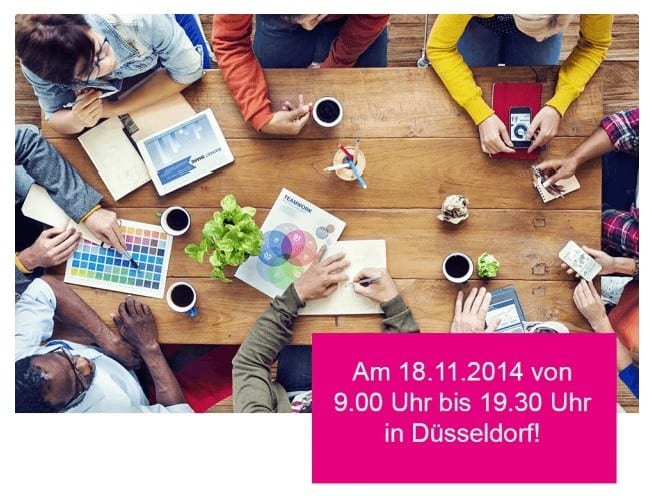 Start-up-Day für Kreative am 18.11. in Düsseldorf