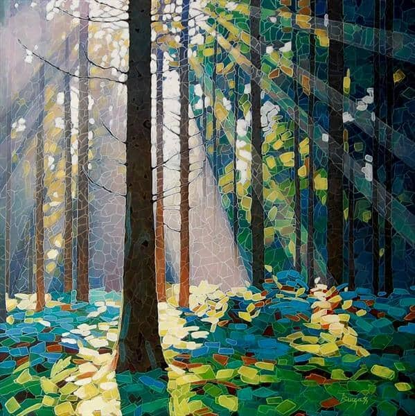 """Wentwood"" Limited Edition Print von Paul Burgess"
