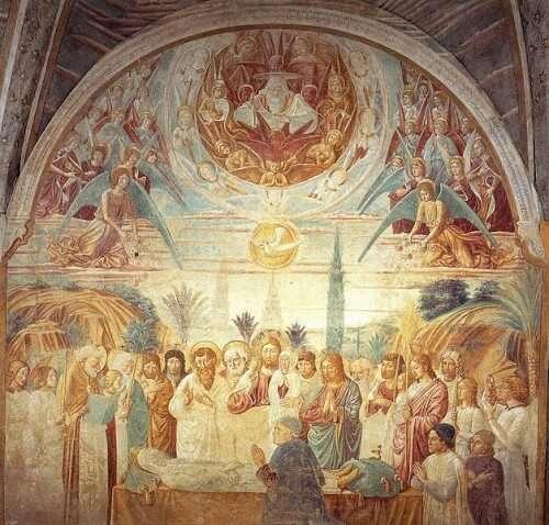"""""""Death of Mary"""" von Benozzo Gozzoli"""