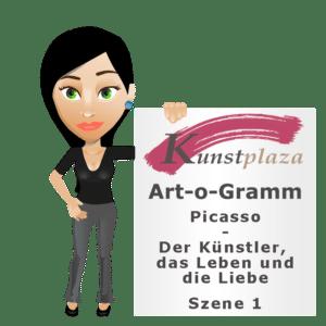 Art-o-Gramm: Picasso - Der Künstler, das Leben und die Liebe - Szene 1