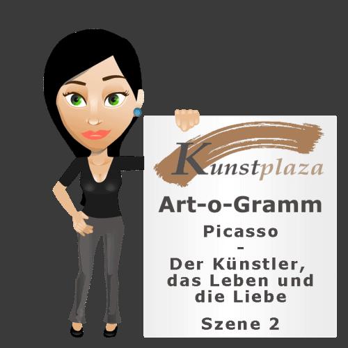 Art-o-Gramm: Picasso – Der Künstler, das Leben und die Liebe (Szene 2)