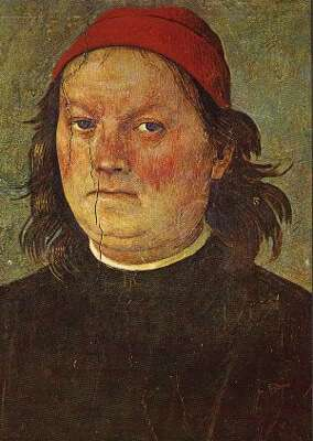 Pietro Perugino - Selbstportrait