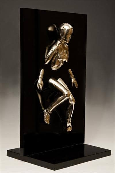 """Emergence Two"" - Bronzeskulptur von David G Smith"