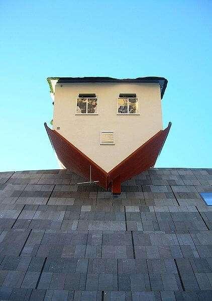 Haus auf dem MUMOK