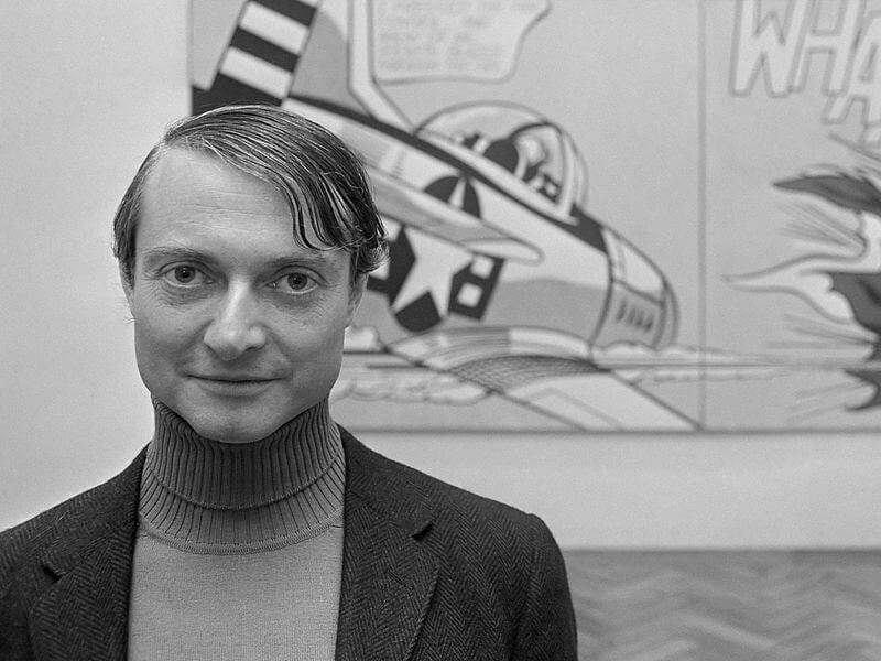 Roy Lichtenstein im Stedelijk Museum (1967)