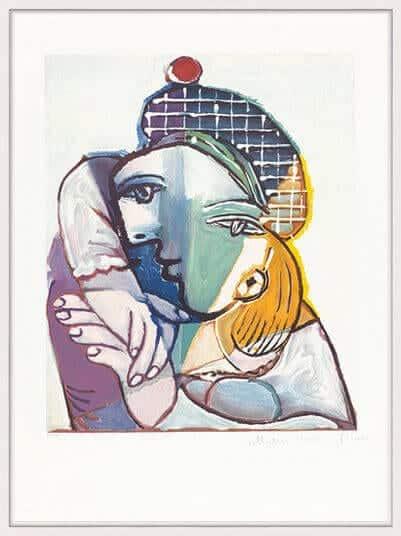 """""""Portrait de femme au béret écossais"""" von Pablo Picasso"""