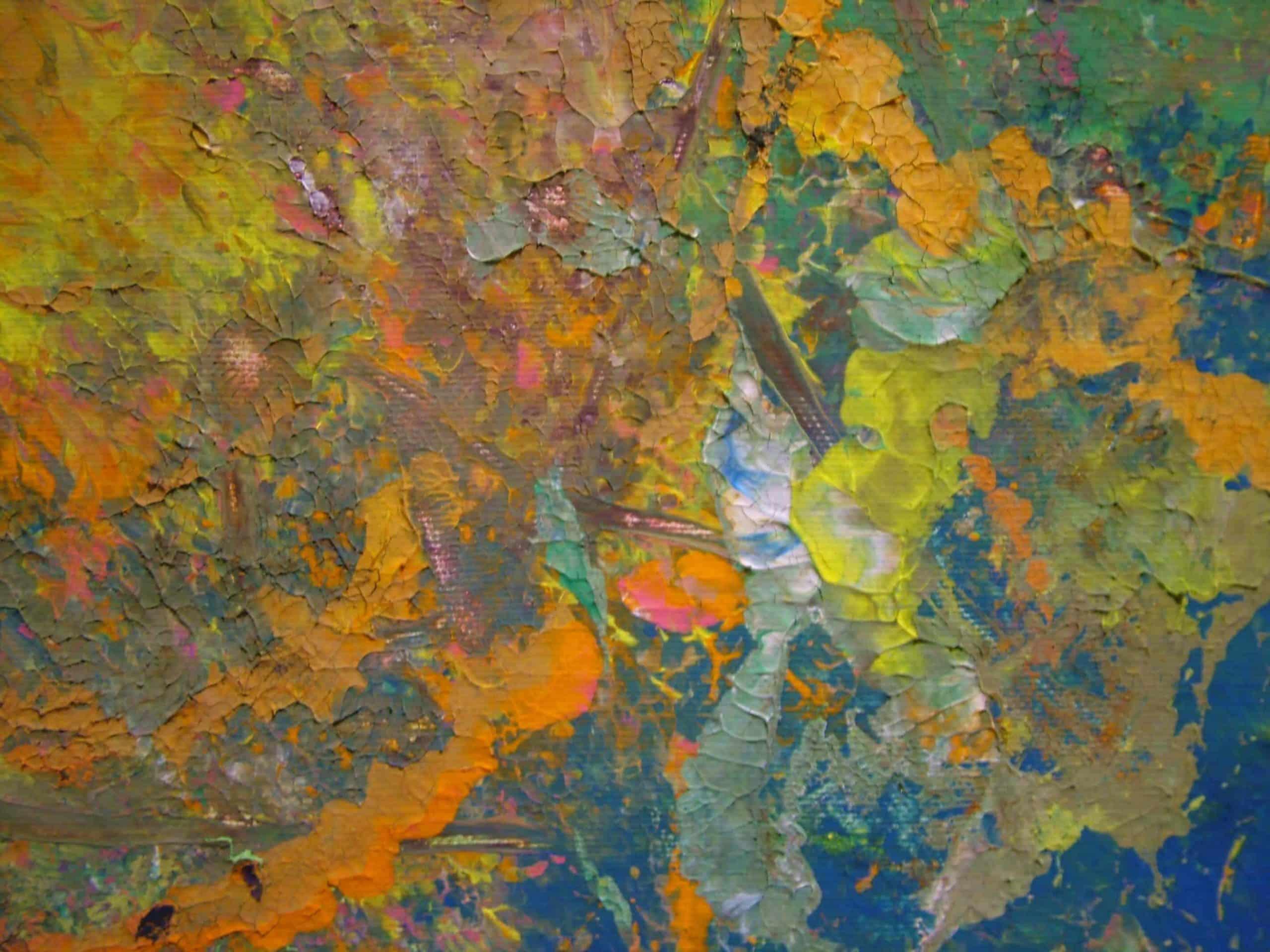 Art Brut Werk von Künstlern der Förderstättte der Lebenshilfe e.V. Passau #5