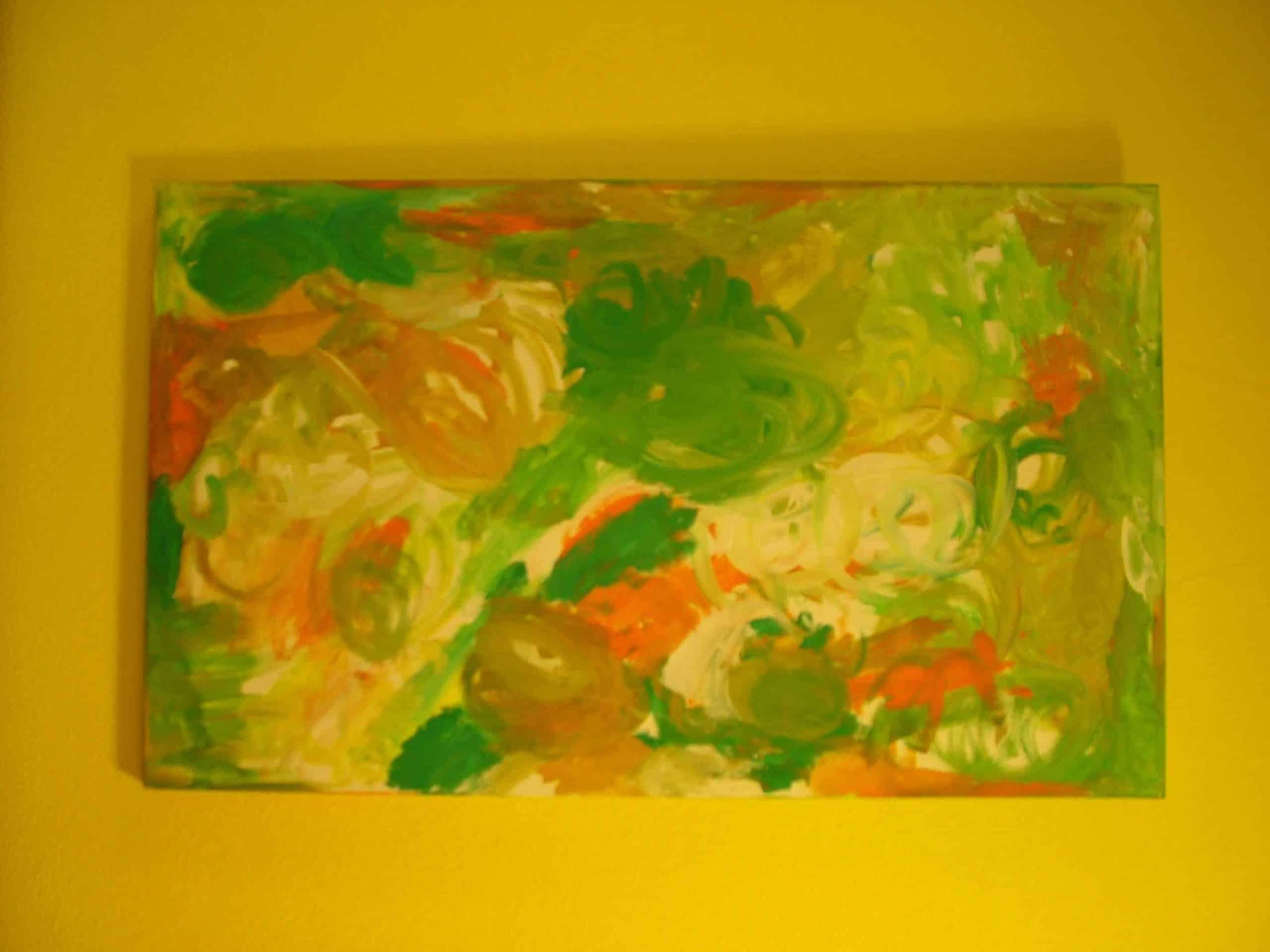 Art Brut Werk von Künstlern der Förderstättte der Lebenshilfe e.V. Passau #7
