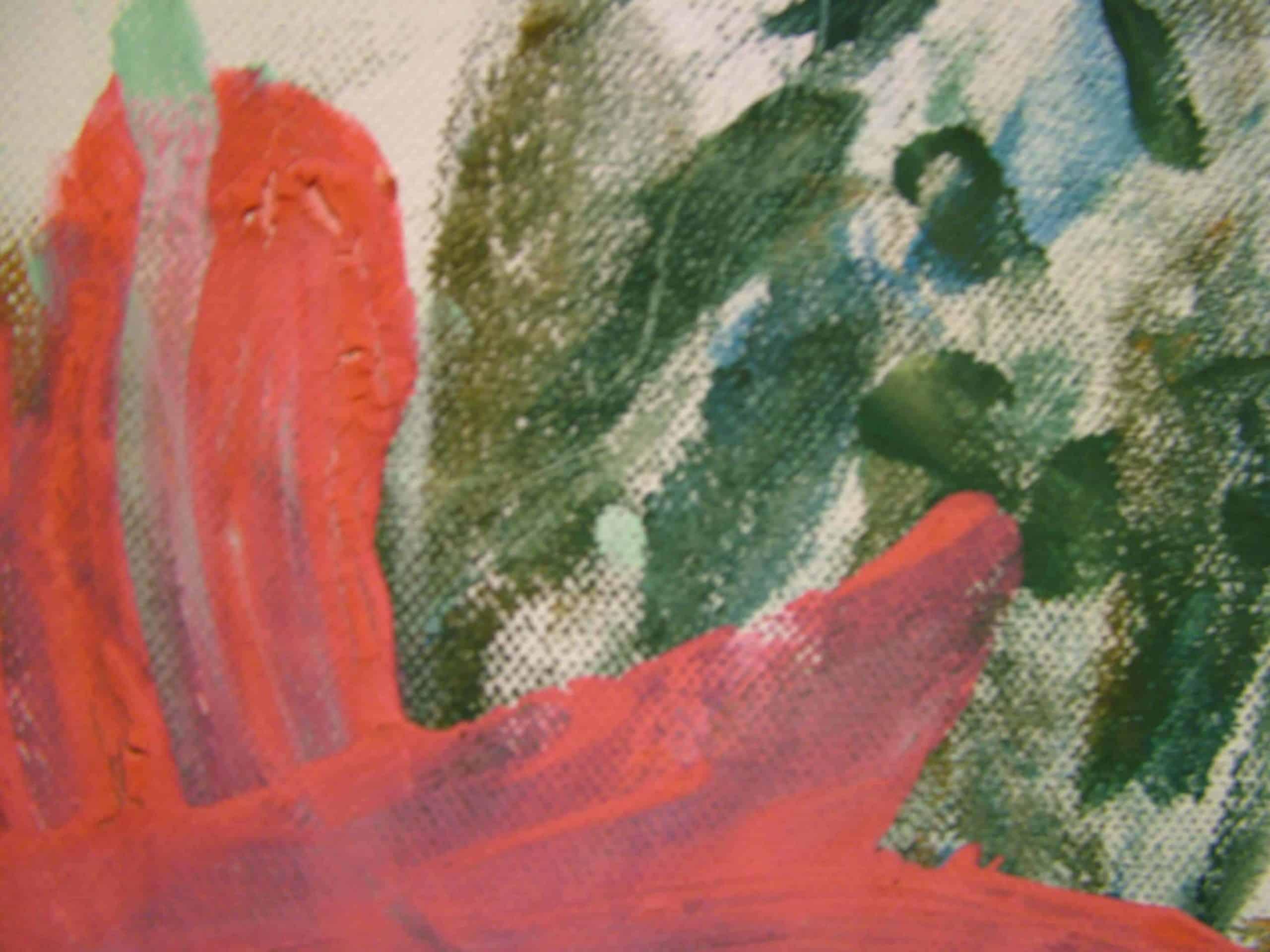 Art Brut Werk von Künstlern der Förderstättte der Lebenshilfe e.V. Passau #8