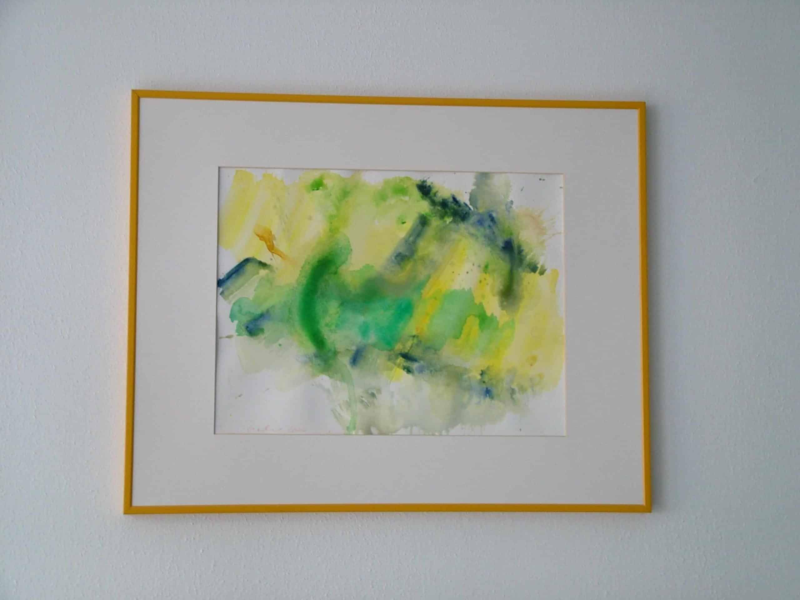 Art Brut Werk von Künstlern der Förderstättte der Lebenshilfe e.V. Passau #11