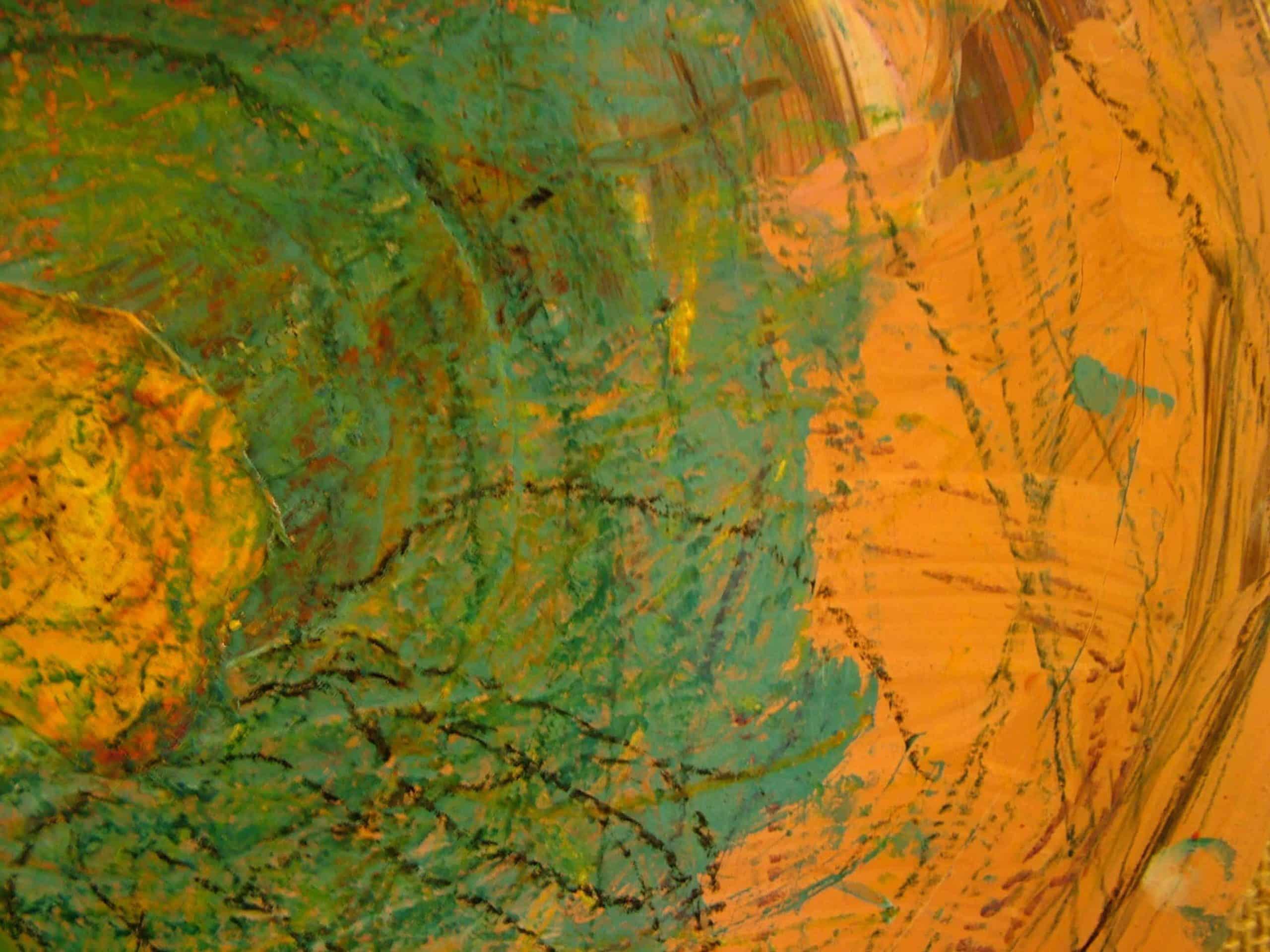 Art Brut Werk von Künstlern der Förderstättte der Lebenshilfe e.V. Passau #12