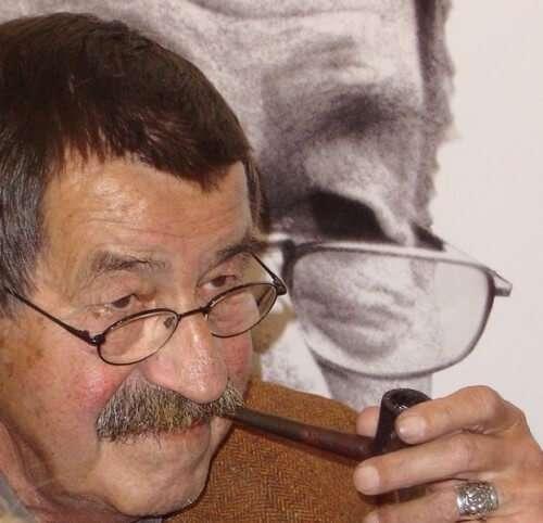 Günter Grass auf Buchmesse, Frankfurt am Main (2004)