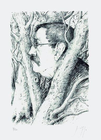 Druckgrafik von Günter Grass