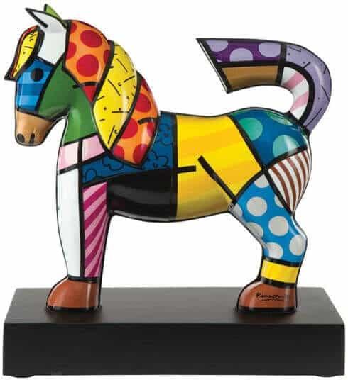 """Porzellanskulptur """"Dancer"""" von Romero Britto"""