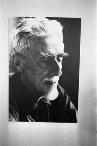 Fotoportrait von Maurits Cornelis Escher