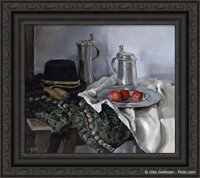 Bild mit Kunstrahmen