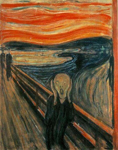 Edvard Munch - Der Schrei (1893)
