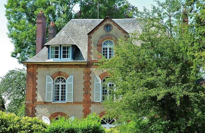 Elternhaus von M. Duchamp in Blainville-Crevon (Normandie, FR)