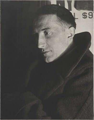 Man Ray - Portrait von Marcel Duchamp (1920-21), Yale University Art Gallery