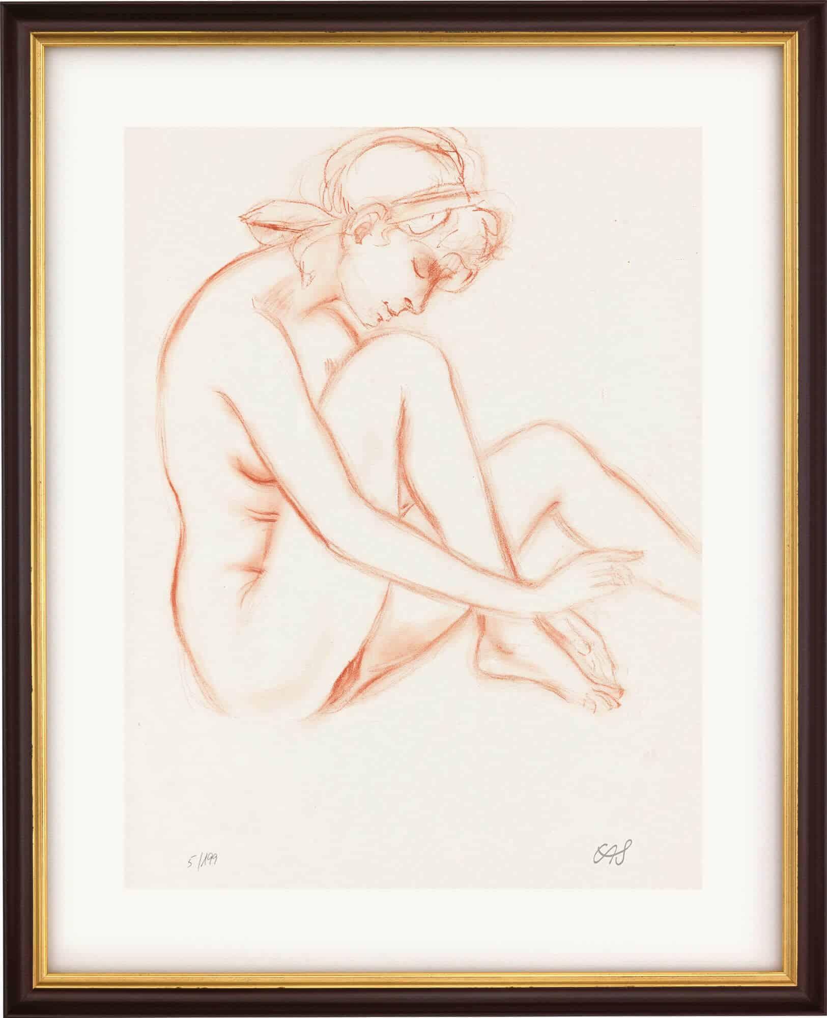 """Giclée """"Erinnerung an dich"""" (1978) von Erwin A. Schinzel"""