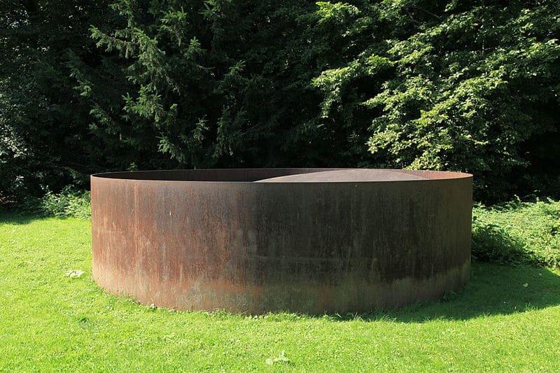 Bottrop-Piece von Donald Judd, Skulpturenpark Quadrat Bottrop in Bottrop